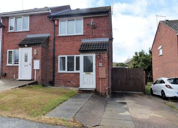 Thumbnail 2 bed semi-detached house for sale in Balliol Road, Daventry