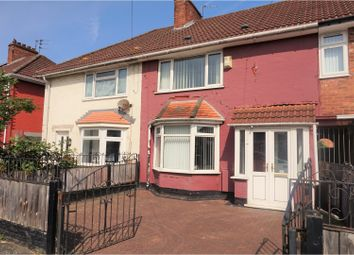 Thumbnail 3 bed terraced house for sale in Branstree Avenue, Liverpool