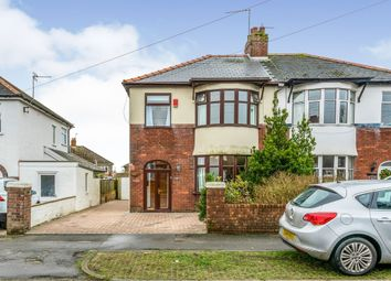 Thumbnail 3 bed semi-detached house for sale in Wordsworth Avenue, Penarth
