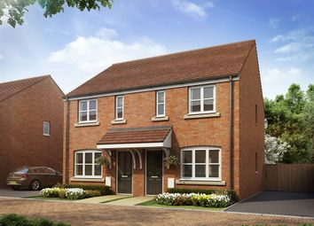 "Thumbnail 2 bed semi-detached house for sale in ""Hamlet B"" at Lime Avenue, Saffron Walden"