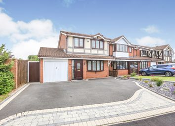 Thumbnail 3 bed detached house for sale in Overfield Drive, Bilston