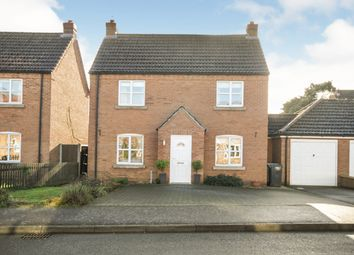 Thumbnail 3 bedroom detached house for sale in Grange Drive, Tattershall, Lincoln