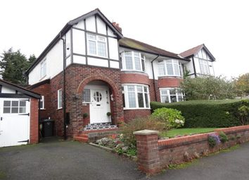 Thumbnail 3 bed semi-detached house for sale in Yewlands Drive, Fulwood, Preston