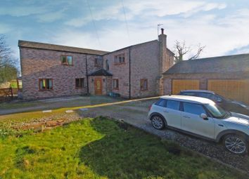 Thumbnail 5 bed detached house for sale in Main Road, Hirst Courtney, Selby