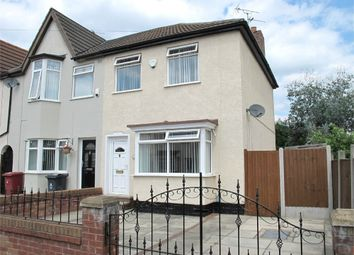 Thumbnail 3 bedroom end terrace house for sale in Crosswood Crescent, Huyton, Liverpool, Merseyside