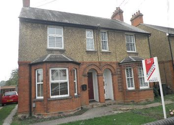 Thumbnail 3 bed semi-detached house to rent in Sundon Road, Harlington, Beds