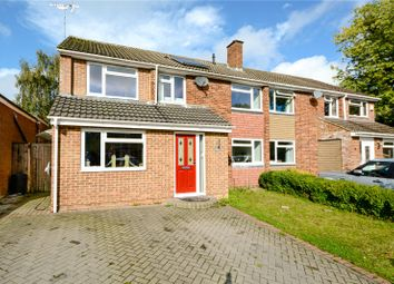 Thumbnail 4 bed semi-detached house for sale in Holmes Crescent, Wokingham, Berkshire