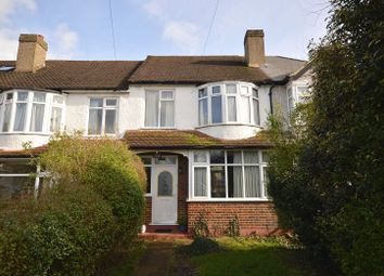 Thumbnail 3 bed terraced house for sale in Ardrossan Gardens, Worcester Park, Surrey.