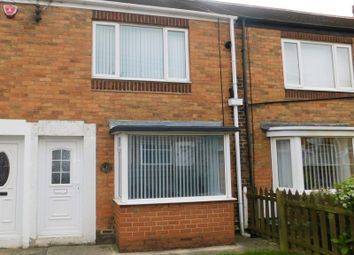 Thumbnail 2 bed terraced house for sale in Queens Avenue, Dalton-Le-Dale, Seaham