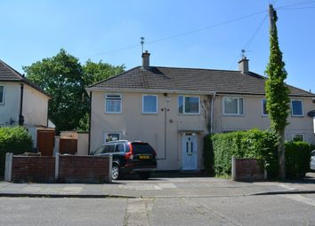 Thumbnail 3 bed semi-detached house for sale in Cordery Road, Evington, Leicester