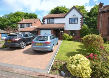 Thumbnail 3 bedroom detached house for sale in Westwell Court, South Gosforth, Newcastle Upon Tyne