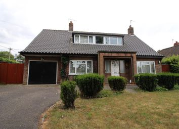 Thumbnail 3 bed detached bungalow to rent in Caistor Lane, Caistor St. Edmund, Norwich
