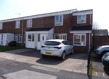 Thumbnail End terrace house for sale in Thackeray Close, Swindon