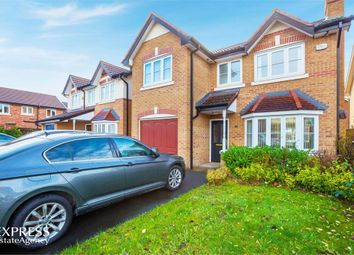 Thumbnail 4 bed detached house for sale in Rimsdale Drive, Moston, Manchester