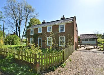 Thumbnail 4 bed detached house to rent in Topcroft Street, Topcroft, Bungay