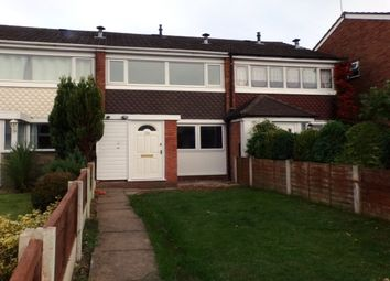 Thumbnail 2 bed terraced house to rent in Ajax Close, Great Wyrley, Walsall