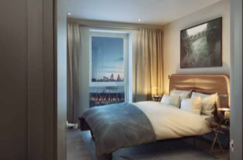 Thumbnail 2 bedroom flat for sale in Cassia Point, Glasshouse Gardens (West Tower), Westfield Avenue, Stratford Village