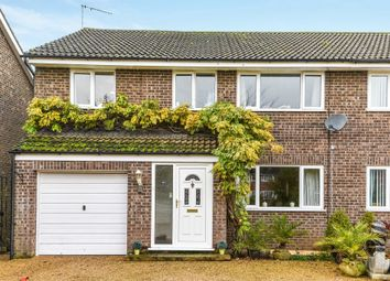Thumbnail 5 bed semi-detached house for sale in All Saints Drive, North Wootton, King's Lynn