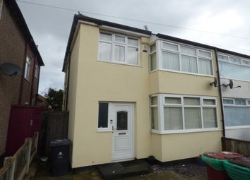 Thumbnail 3 bed semi-detached house to rent in Jeffereys Crescent, Huyton, Liverpool