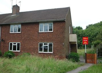 Thumbnail 2 bedroom flat to rent in Masefield Crescent, Horninglow, Burton Upon Trent, Staffordshire