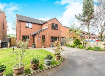 Thumbnail 4 bed detached house for sale in Nuffield Close, Worcester