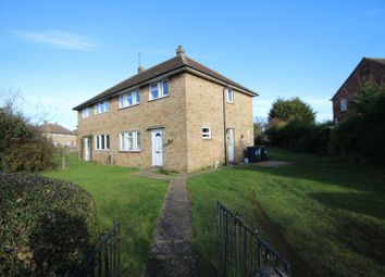Thumbnail 3 bedroom semi-detached house for sale in Drivers Avenue, Huntingdon, Cambridgeshire