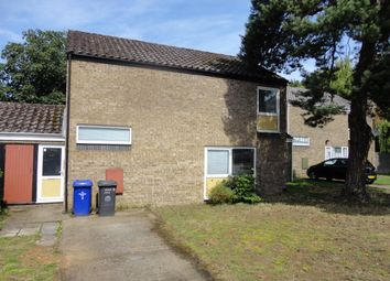 Thumbnail 3 bed terraced house to rent in Cedar Close, RAF Lakenheath