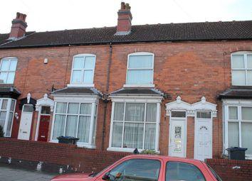 Thumbnail 3 bedroom terraced house for sale in Headingley Road, Handsworth, Birmingham