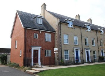 Thumbnail 3 bedroom town house for sale in Douglas Court, Ely