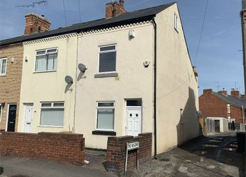 Thumbnail 2 bedroom end terrace house for sale in Stubbing Lane, Worksop, Nottinghamshire