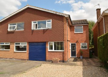 Thumbnail 4 bed semi-detached house for sale in Rosebank Road, Countesthorpe, Leicester