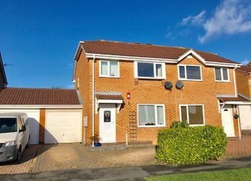 Thumbnail 3 bed semi-detached house for sale in Wymondham Way, Melton Mowbray