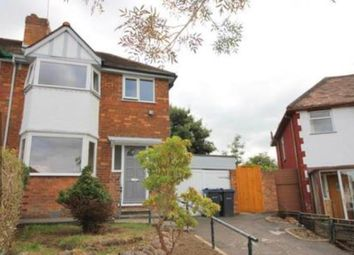 Thumbnail 3 bed property to rent in Woodvale Road, Hall Green, Birmingham