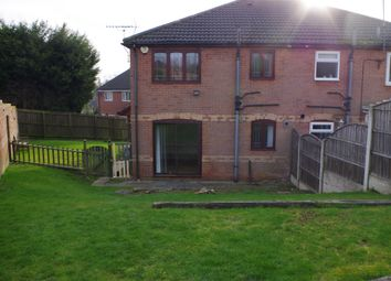 Thumbnail 1 bedroom terraced house to rent in Birchen Holme, South Normanton Derbyshire