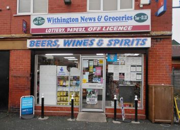 Thumbnail Retail premises for sale in 92 Mauldeth Road West, Manchester