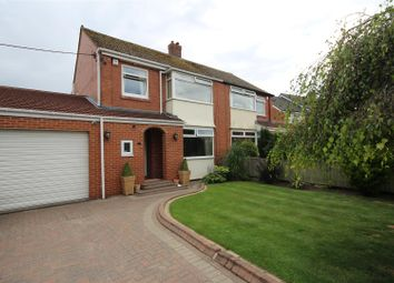 Thumbnail 3 bedroom semi-detached house for sale in Woodlands Road, Cleadon, Sunderland