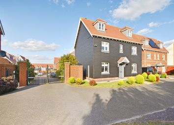 Thumbnail 6 bed detached house for sale in Lewis Road, Hawkinge, Folkestone