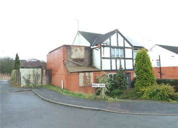 Thumbnail 2 bed semi-detached house for sale in Maple Drive, Broadmeadows, South Normanton, Alfreton