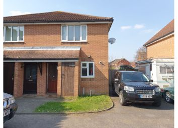 Thumbnail 2 bed semi-detached house for sale in Annett Road, Walton-On-Thames