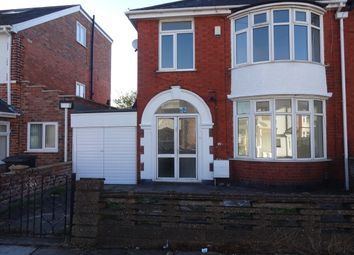 Thumbnail 1 bed semi-detached house to rent in Osmaston Road, Leicester