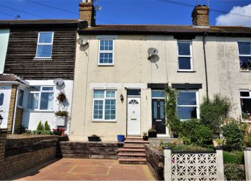 Thumbnail 2 bed terraced house for sale in Shirehall Road, Dartford
