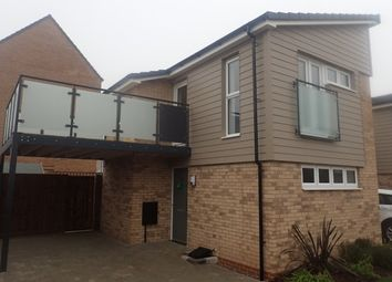 Thumbnail 1 bed detached house to rent in Agrippa Crescent, Fairfields, Milton Keynes, Bucks