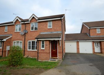 Thumbnail 3 bed semi-detached house for sale in Springwell Close, Grange Park, Northampton