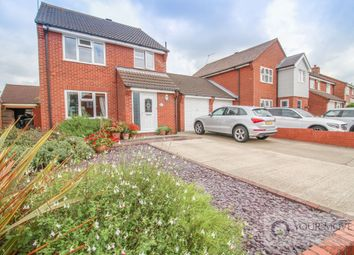 Thumbnail 3 bed detached house for sale in Langdale Park, Lowestoft