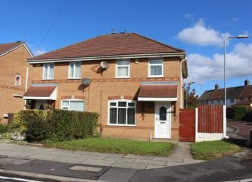 Thumbnail 3 bed semi-detached house to rent in Midway Road, Huyton, Liverpool