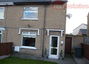 Thumbnail 2 bedroom semi-detached house to rent in Newholme Crescent, Evenwood, Bishop Auckland