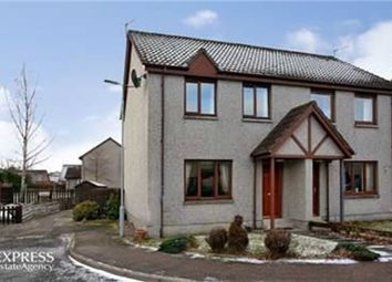 Thumbnail 3 bedroom semi-detached house for sale in Craigview Place, Ballater, Royal Deeside, Aberdeenshire