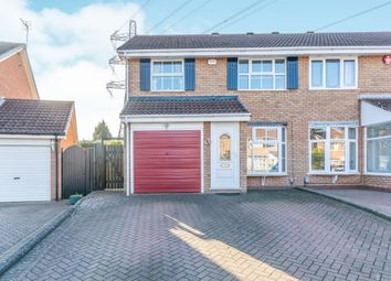 Thumbnail 4 bed semi-detached house for sale in Swanley Close, Halesowen