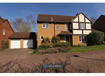 Thumbnail 4 bed detached house to rent in Hollyhook Close, Crowthorne