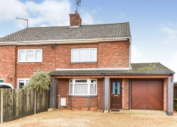 Thumbnail 3 bed semi-detached house for sale in Lynn Road, West Winch, King's Lynn